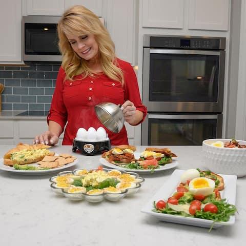Shop LC Homesmart Egg Boiler with Stainless Steel Lid Holds 7 Eggs - Medium