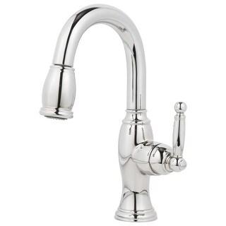 Newport Brass 2510-5203 Nadya Pullout Spray High-Arc Bar Faucet