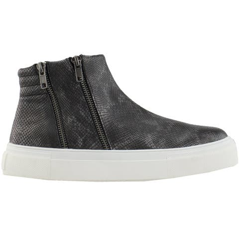 Matisse Dawson Snake Platform Womens Sneakers Shoes Casual - Black