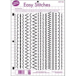 """Hot Off The Press Template 8.5""""X11""""-Easy Stitches"""