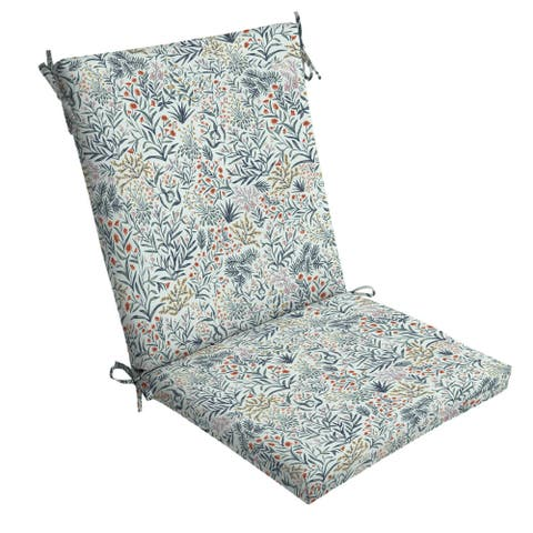 Arden Selections Pistachio Botanical Outdoor Chair Cushion - 44 in L x 20 in W x 3.5 in H