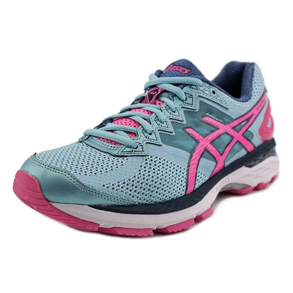 Asics Gel-Kayano 23 Women Round Toe Synthetic Blue Running Shoe