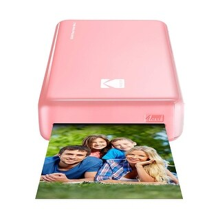 Kodak Mini 2 HD Wireless Portable Mobile Instant Photo Printer - Pink