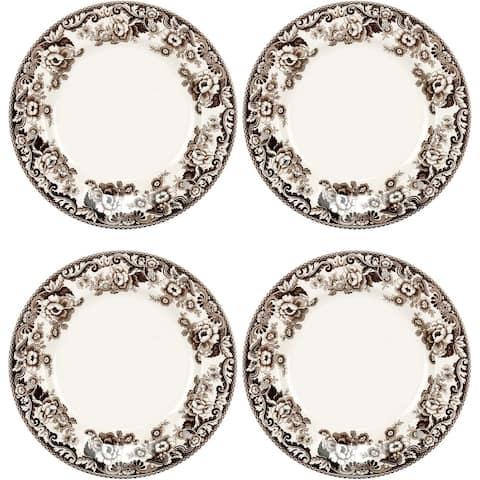 Spode Delamere Dinner Plates, 10.5 Inch, Set of 4 - 10.5 Inch