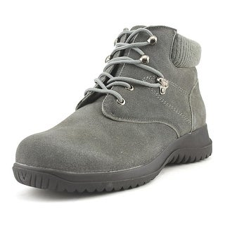 Wanderlust Boston  W Round Toe Suede  Boot