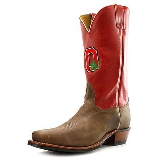 Nocona Men's Ohio State Vintage Men Square Toe Leather Western Boot