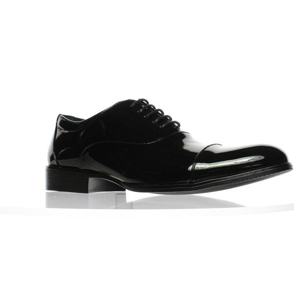 73e938c28f6 Shop Stacy Adams Mens Gala Black Patent Oxford Dress Shoe Size 7.5 ...