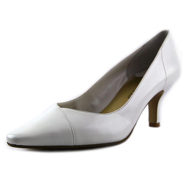 Bella Vita Wow Women W Pointed Toe Leather White Heels