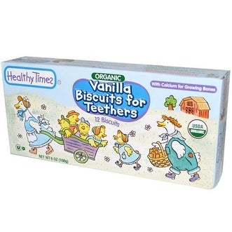 Healthy Times - Vanilla Teething Biscuits ( 12 - 6 OZ)
