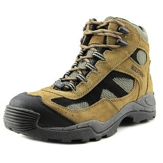 Wolverine Athletic Mid Men EW Steel Toe Leather Tan Work Boot