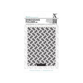 Docrafts Xcut Embossing Folder A6 Galvanized Steel