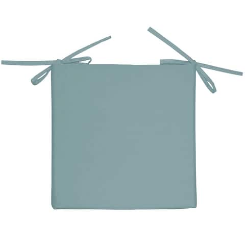 """2 PK Tropical Outdoor Chair Pad Solid Color - 17x17"""""""