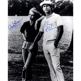 Cindy MorganChevy Chase Dual Signed 16x20 photo