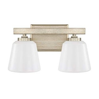 """Donny Osmond Home 8532-300 2 Light 13.75"""" Wide Bathroom Fixture from the Berkeley Collection"""