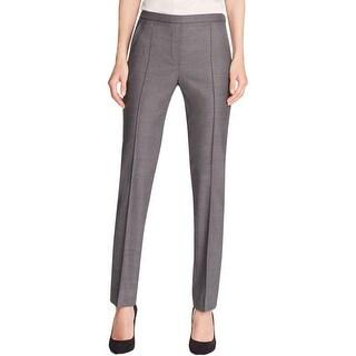 Elie Tahari Womens Dress Pants Pleated Hidden Side Zipper