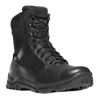 """Danner Men's Lookout Side-Zip 8"""" Black Full Grain Leather"""