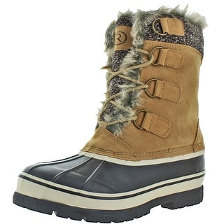 Moda Essentials Revenant-6 Men's Winter Snow Boots Waterproof Rubber Duck Toe