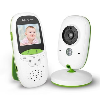 Fitnate Portable Video Baby Monitor with Digital Camera, Infrared Night Vision, Temperature Monitoring, Lullabies - SIZE