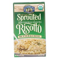 Lundberg Family Farms Sprouted Risotto - Butter and Chive - Case of 6 - 5.5 oz.