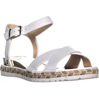 Vince Camuto Kankitta Sport Ankle Strap Sandals, Pure Combo