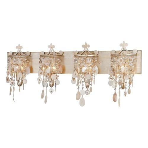 Vaxcel Lighting W0005 Anastasia 4 Light Bathroom Vanity Light - 33.5 Inches Wide