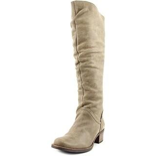 Matisse Lonestar Women Round Toe Leather Brown Knee High Boot