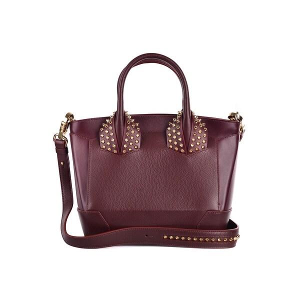7285a5d72ab Shop Christian Louboutin Womens Eloise Small Leather Burgundy Cross ...