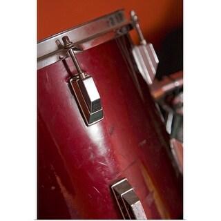 """Close-up of drum"" Poster Print"