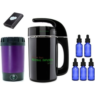 tCheck 2 Infusion Potency Tester w/ Mighty Fast Herbal Infuser Bundle