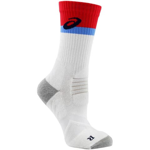Asics Womens Athlete Crew Tennis Athletic Socks Socks