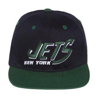 NFL New York Jets Flatbill 2 Tnoe Snapback Hat