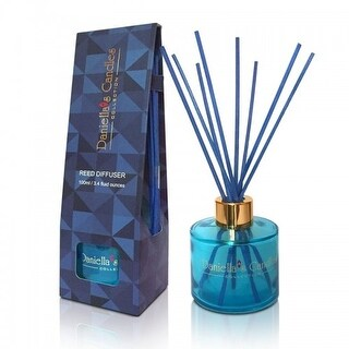 Reed Diffuser 100ML Blue by Daniella's Candles