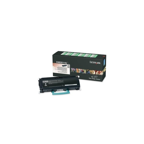 Lexmark X463X11G Lexmark Extra High Yield Return Program Black Toner Cartridge - Black - Laser - 15000 Page - 1 Each