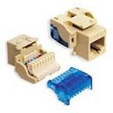 Icc Ic1078e5yl Cat5e Modular Connector Jack, Yellow
