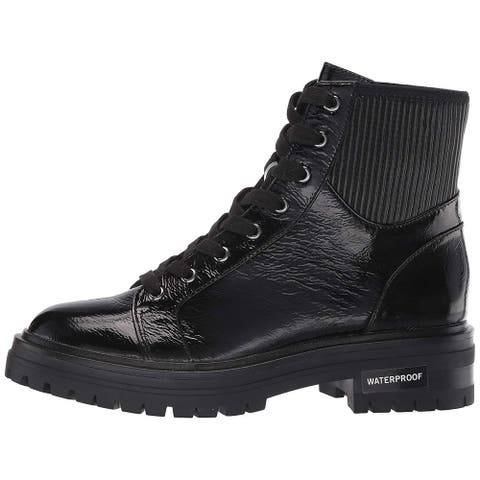 Kenneth Cole New York Women's Rhode Lace Up Boot Wp Ankle