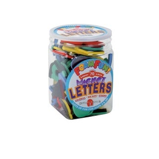School Specialty Foam Fun Magnetic Lowercase Letters and Numbers, Set of 70