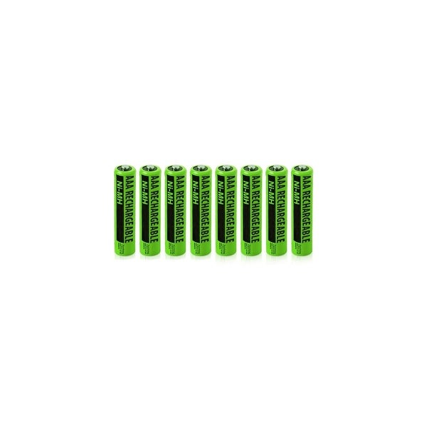 Replacement Panasonic NiMH AAA Battery for KX-TG4025N  /KX-TG7644M  /KX-TGE233B  Phone Models- 8Pk