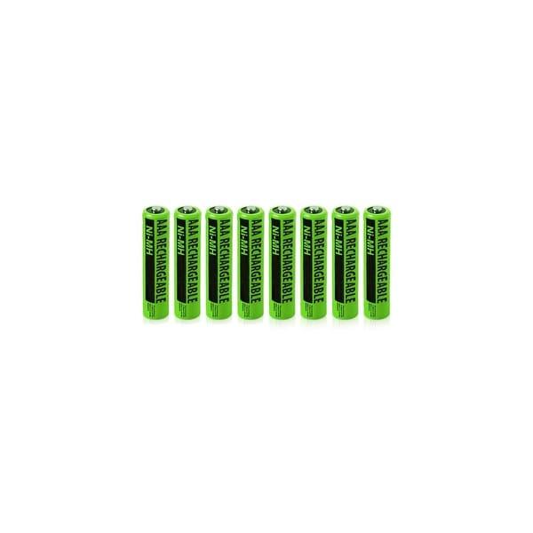 Replacement Panasonic NiMH AAA Cordless Phone Battery - 630mAh / 1.2v (8 Pack)