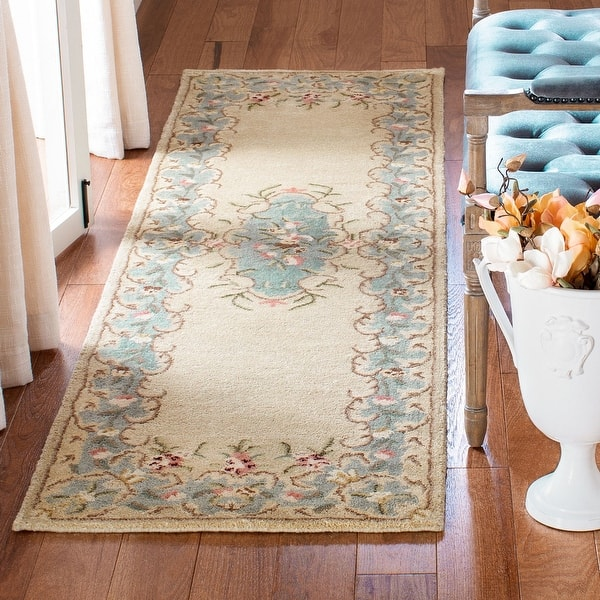Safavieh Handmade Bergama Achsah Oriental Hand Spun Wool Rug On Sale Overstock 6551274