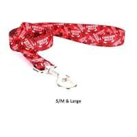 Chicago Bulls Nylon Leash - Large