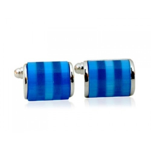 Shimmering Of Blues Cufflinks