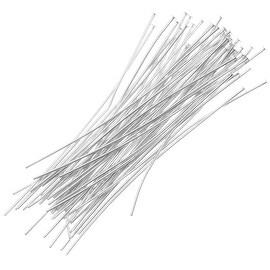 Silver Filled Head Pins 26 Gauge 2 Inch (20)