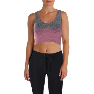 Marc New York by Andrew Marc Womens Sports Bra Ombre Space Dye