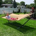 Sunnydaze Large 2-Person Rope Hammock with Spreader Bar - Thumbnail 27