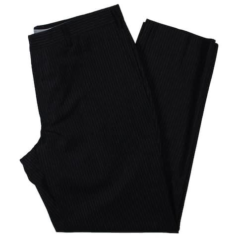 Zanella Mens Bevino Dress Pants Pinstripe Modern Fit