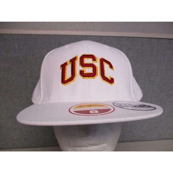 uk availability 12f2c 7ca95 ... coupon for usc trojans adult mens size 8 flatbrim fitted cap hat 5a14f  0ec9a