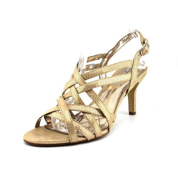 Alfani Alisa   Open-Toe Synthetic  Slingback Heel