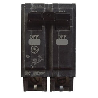 GE THQL2160 Double Pole Circuit Breaker, 60 Amp, 2""