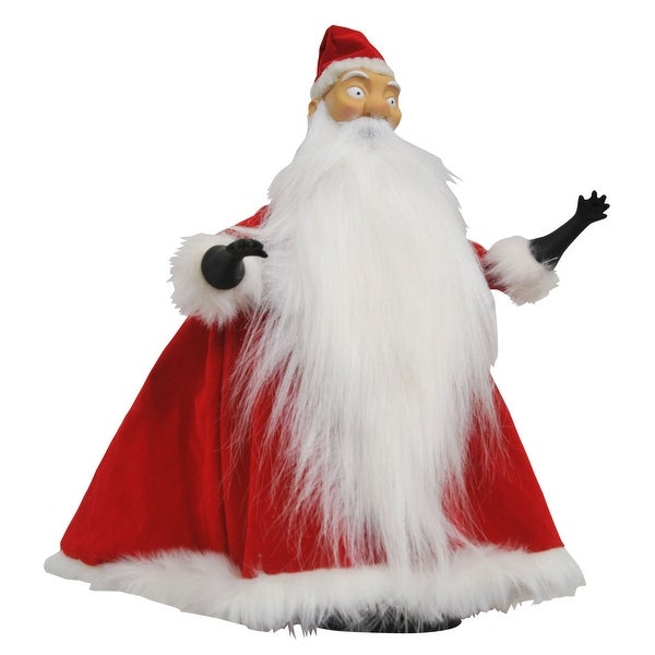 "Nightmare Before Christmas Deluxe Cloth Santa Claus 10"" Doll"