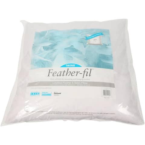 "Fairfield Feather-Fil Feather & Down Pillow Insert-27""X27"" Fob: Mi"